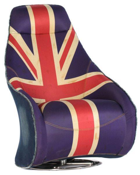 Размер (Ш*В*Г): 82*108*72 Удобные, эргономичные и крайне необычные, благодаря креативному стилю обивки, эти кресла займут достойное место в творческой атмосфере кабинета или модной холостяцкой студии. Деним цвета индиго, коричневая кожа или принт с британским флагом – какой бы вариант Вы ни выбрали, его непременно оценят Ваши посетители.             Метки: Кресла для дома, Кресла с высокой спинкой, Кресло для отдыха.              Материал: Металл, Ткань.              Бренд: MHLIVING…