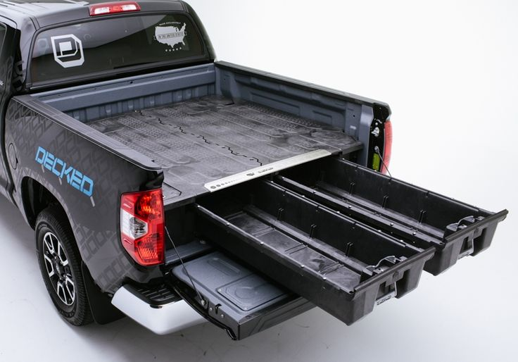 """DECKED RAM 1500 (2002-2008) or 2500 & 3500 (2003-2009) with a 6' 4"""" bed length"""