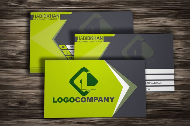 Professional Business Card Design in CorelDraw X8 :BY HABIB CHISHTI