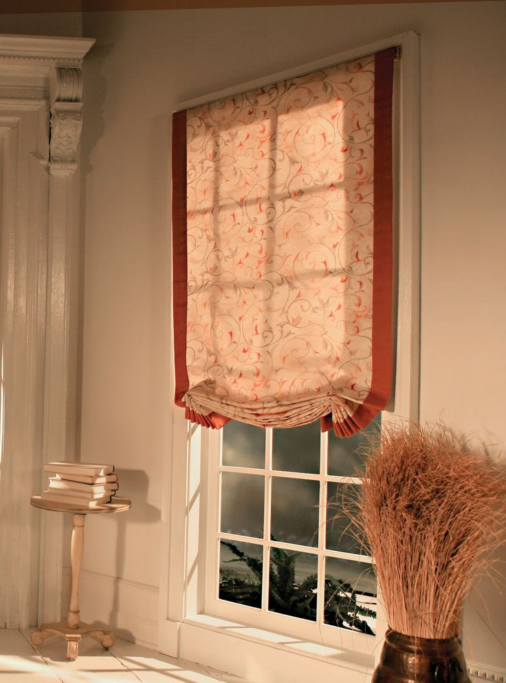 London In C O M Fabric Roman Shades Roman Shades