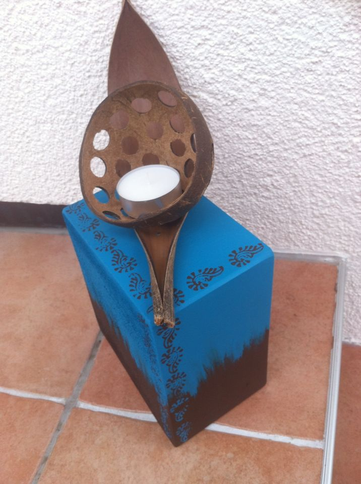 Windlicht /Kerzenhalter  www.facebook.com/CordeliasArtandMore 25€