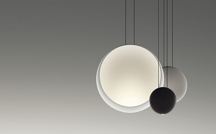Hanging lamps COSMOS 2511 Design by Lievore Altherr Molina