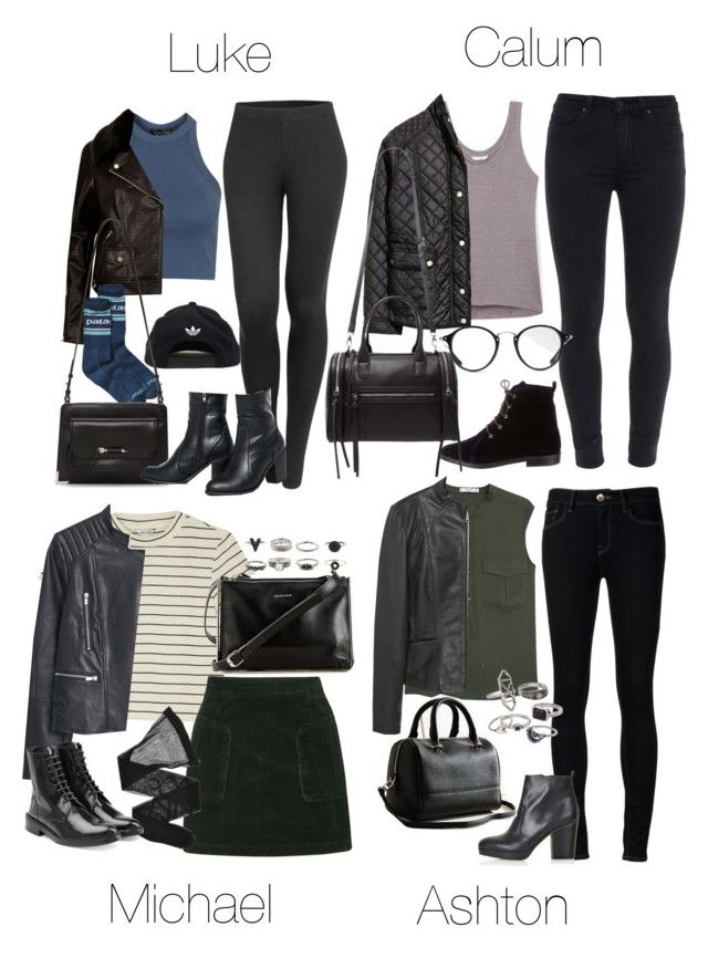 """""""5SOS Concert Outfits (Transitional Weather Cold>>Warm)"""" by fivesecondsofinspiration ❤ liked on Polyvore featuring Topshop, LE3NO, Patagonia, adidas, Mackage, Truffle, MANGO, Ström, Opening Ceremony and Paige Denim"""