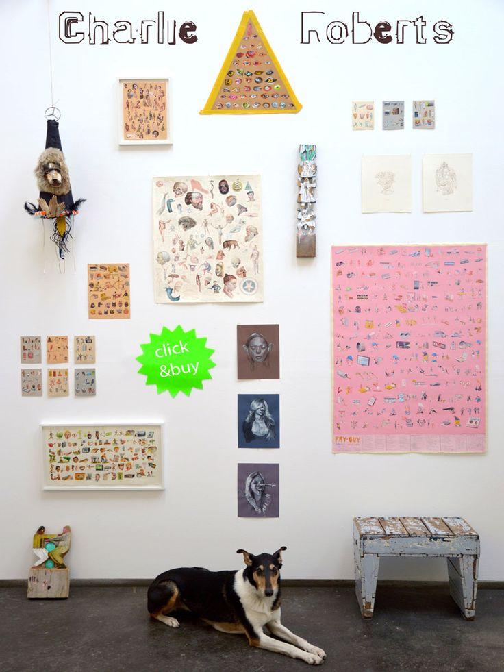 Charlie Roberts Wall 2012 - We Like Art Wall