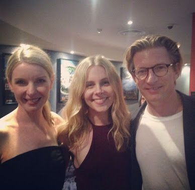 Jacqueline McKenzie, Hannah Fredericksen, and David Wenham at 'Force of Destiny' special screenin at Byron Bay Film Festival 2015.