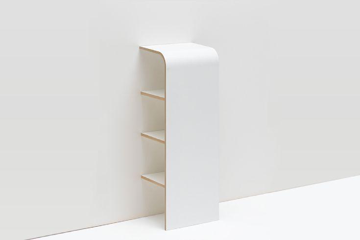 Crush | L'étagère design de Tojo, idéale pour les petits espaces !