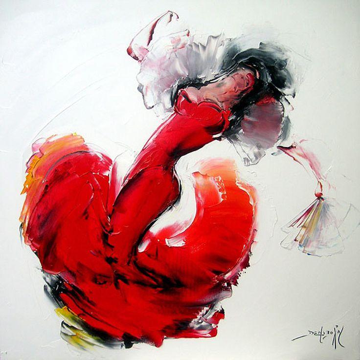 Daniel Densborn, 1946 | Flamenco dancers | Tutt'Art@
