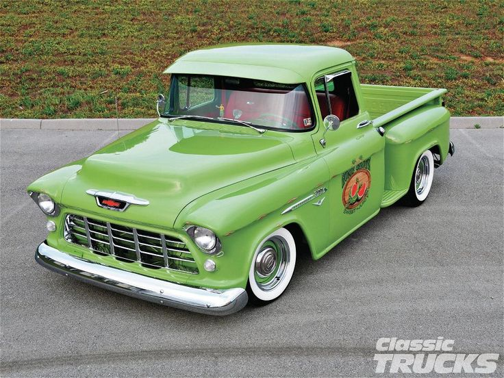 1955 Chevrolet 3100 Maintenance/restoration of old/vintage vehicles: the material for new cogs/casters/gears/pads could be cast polyamide which I (Cast polyamide) can produce. My contact: tatjana.alic@windowslive.com