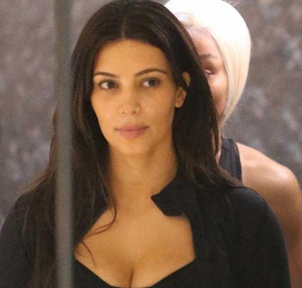 Al natural o con maquillaje, Kim siempre deslumbra con su belleza