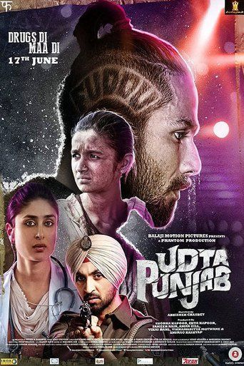 The Udta Punjab (2016) movie poster image #nmod #bollywood