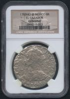 1783 8 Reales MO FF Silver Shipwreck Coin from the El Cazador (NGC Encapsulated) at PristineAuction.com
