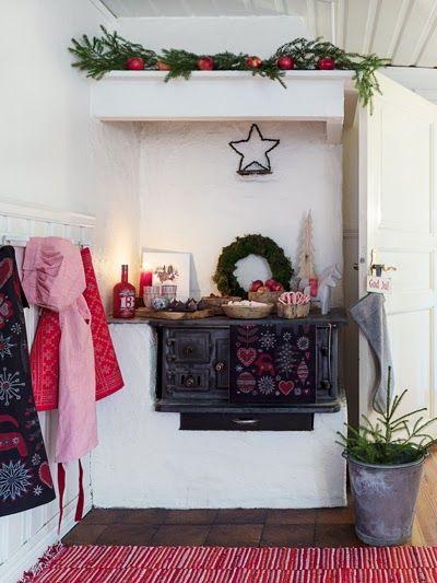 Anna Truelsen inredningsstylist: Ge ditt hem lantlig julkänsla.