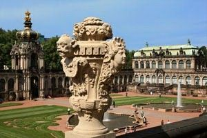 Zwinger Palace – a baroque gem from the time of Augustus the Strong.