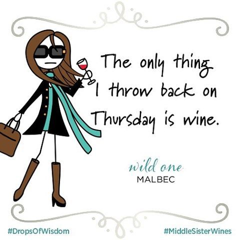 Join me? #middlesisterwines #middlesister #dropsofwisdom #wine #winelover #throwbackthursday #humor