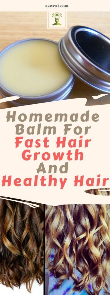 DIY Homemade Balm For Fast Hair Growth And Healthy Hair