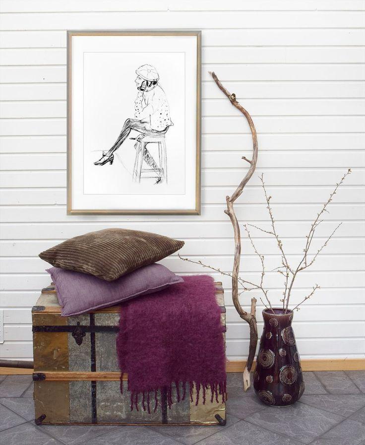 Prints, wall art, poster, affisch, konst, croquis