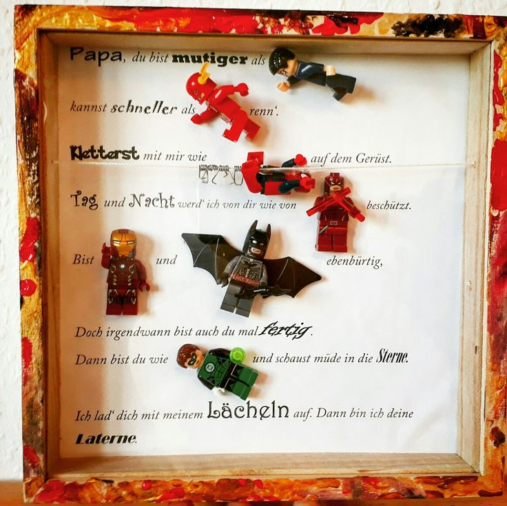 9 best 3D Rahmen Lego Superhelden images on Pinterest | Box frames ...