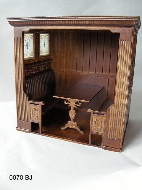 1:12th scale miniature English pub 'snug' finished by Ken Haseltine0070 BJ by Ken@JBM, via Flickr