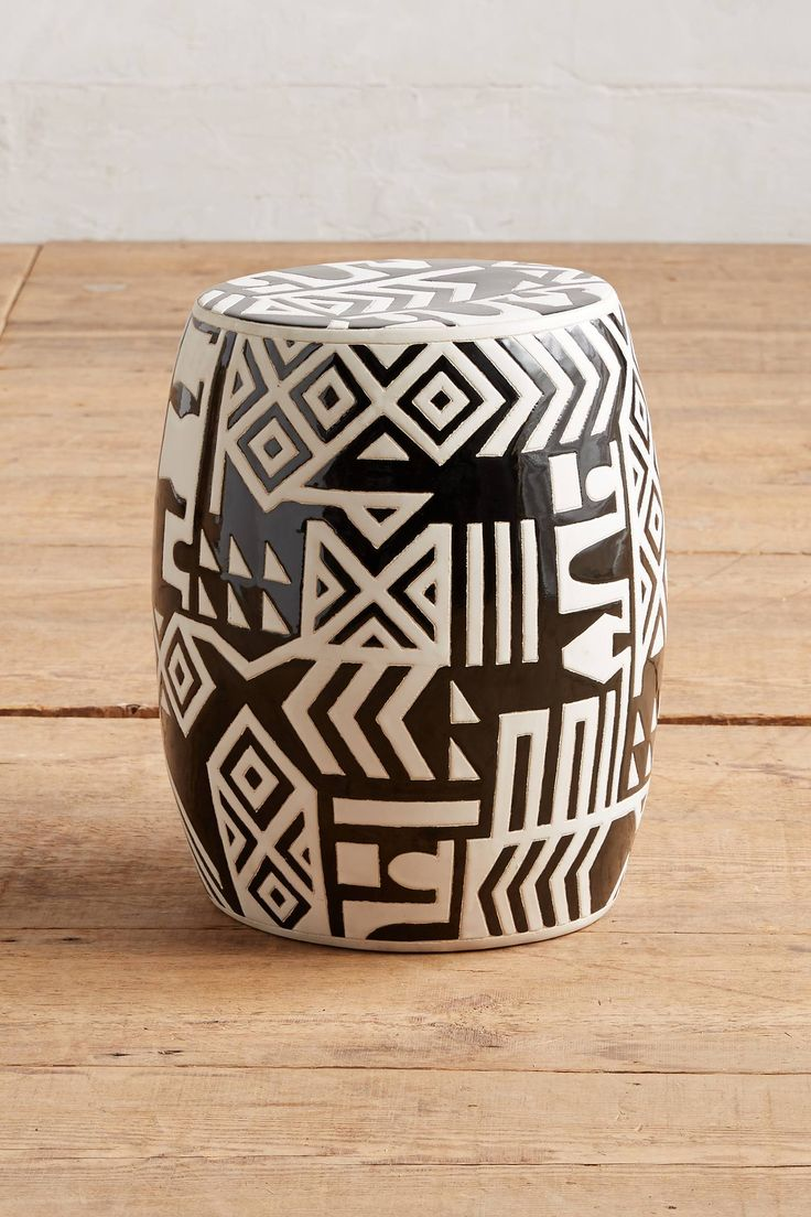 Slide View: 1: WHIT Ceramic Stool--168usd in stock