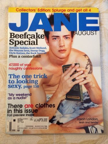 August 2000 cover with Jason London