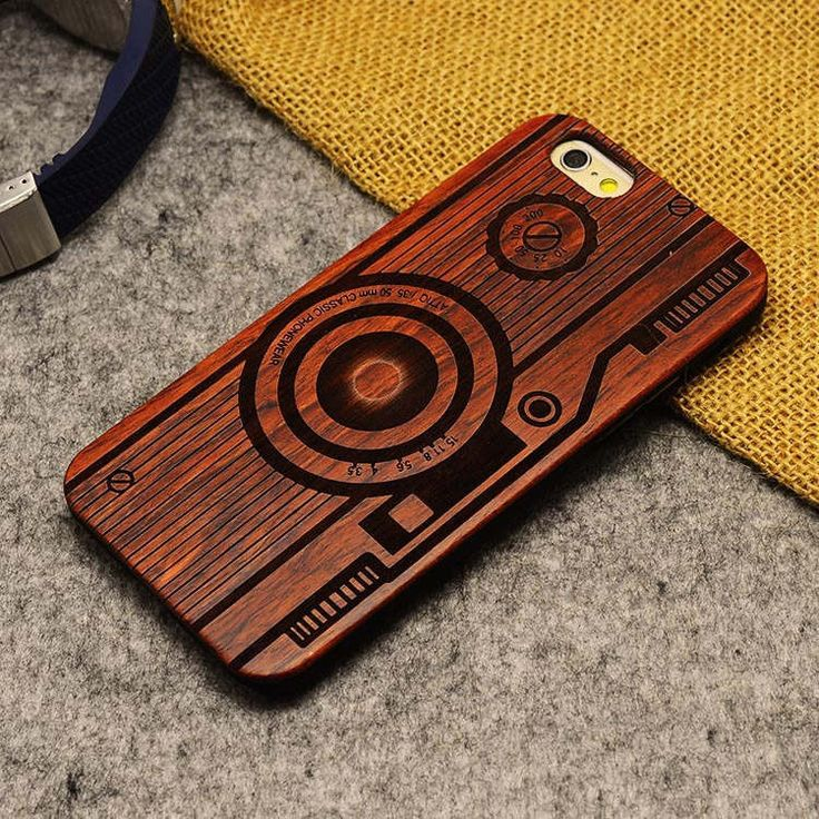 Bamboo Carving Phone Cover for iPhone 5/5S/5SE (Phone Cover for iPhone SE)