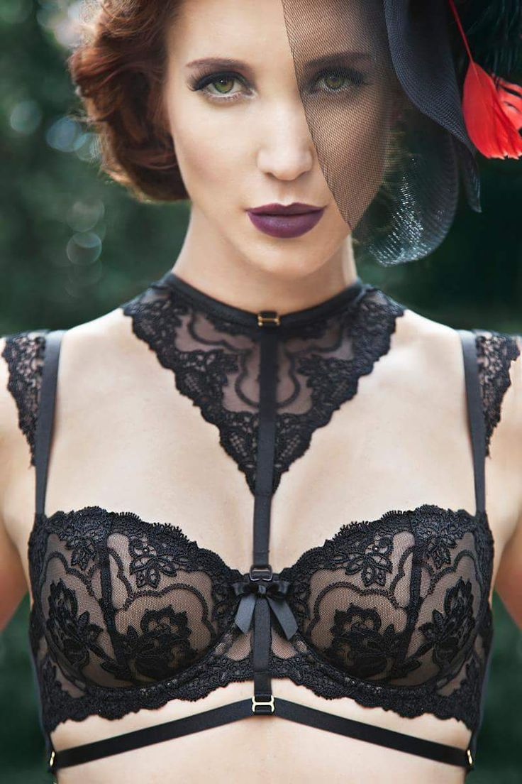 Madeleine farhoumand by chris voreos lingerie harness lace