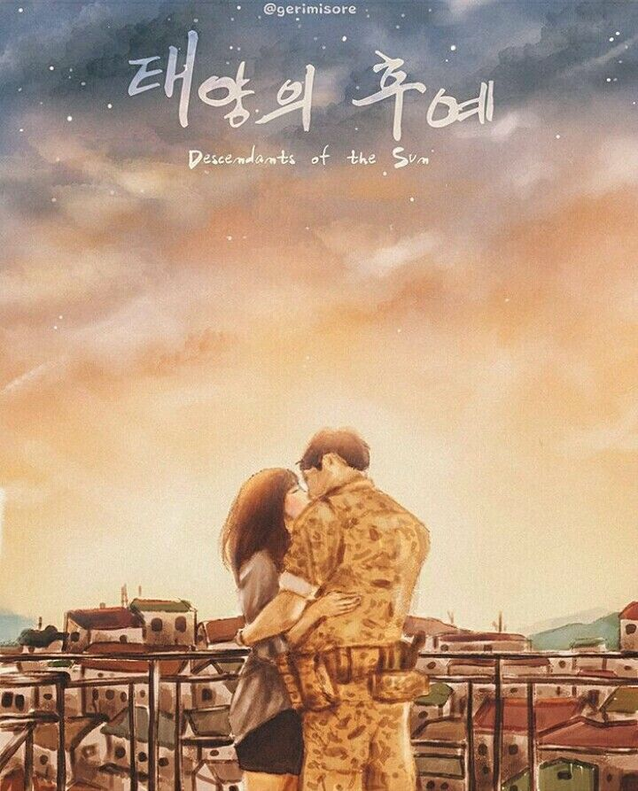 Descendants Of The Sun #Fanart #KDrama