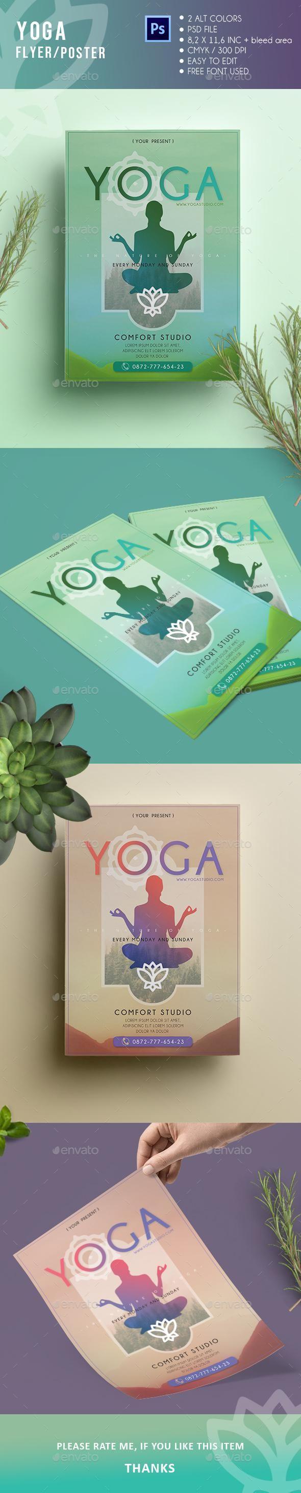71 besten Yoga flyer Bilder auf Pinterest | Yoga logo, Visitenkarten ...