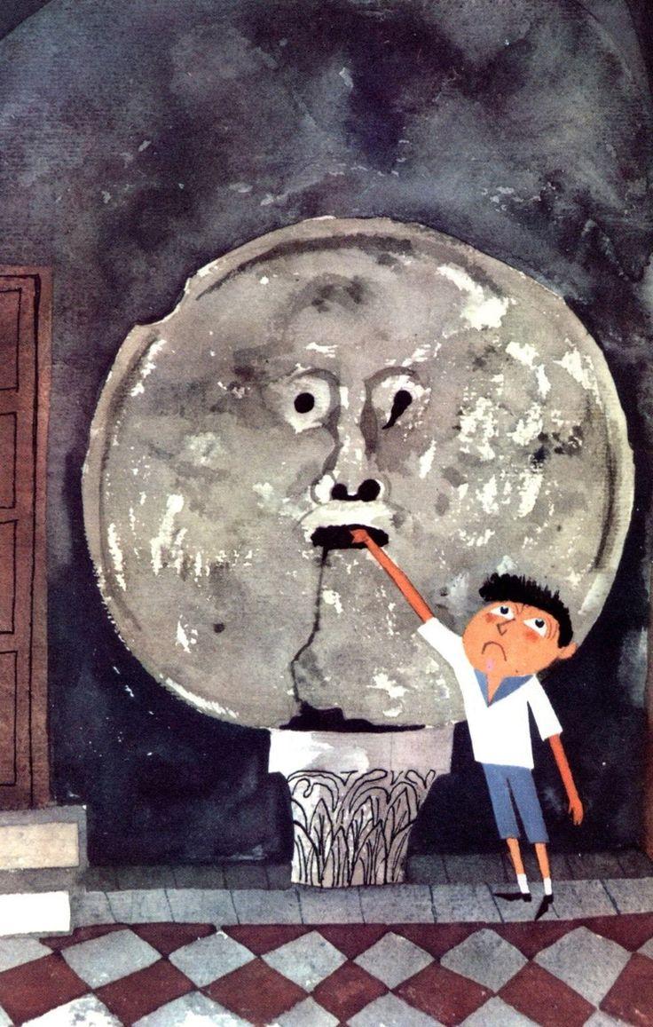 Risultati immagini per pinterest illustration rome