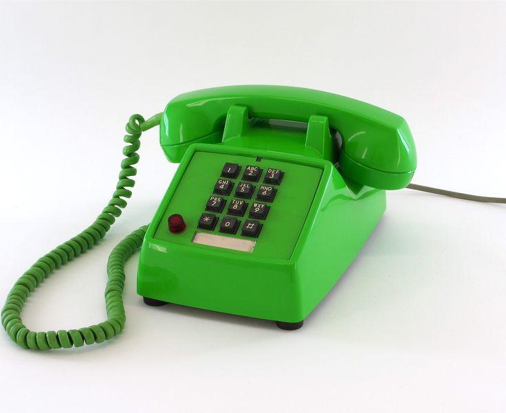 vintage phone | Green Envy | Pinterest