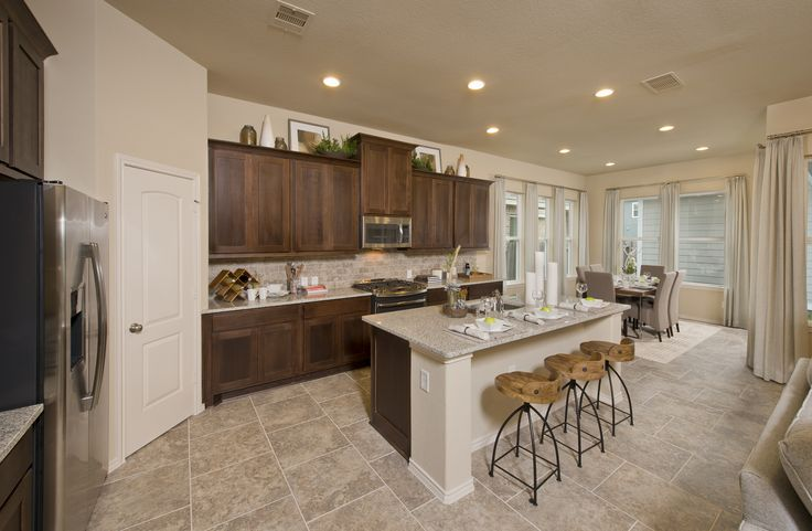 Perryhomes Kitchen Townhome Design 2345 Gorgeous