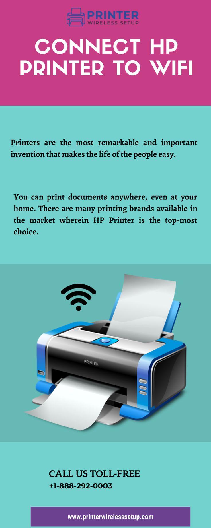 Connect HP Printer to WiFi Hp printer