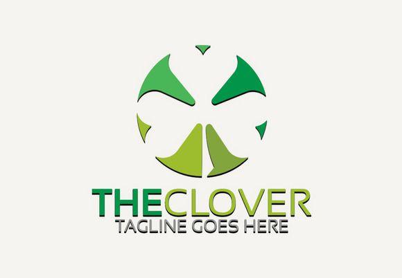 Clover Logo by Josuf Media on @creativemarket