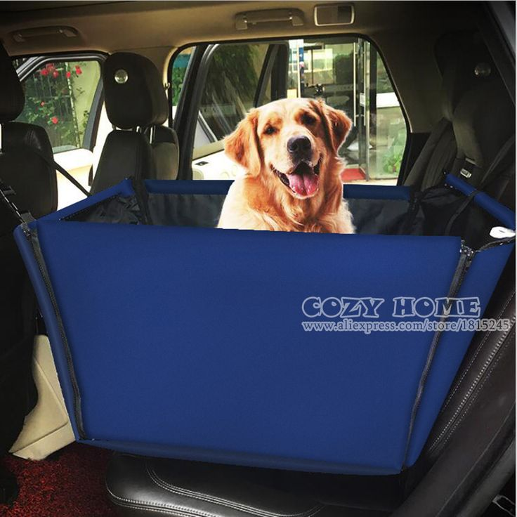 Portable Pet Booster Seat Car Dog Carrier Waterproof Sided Travel Cars Bag For Pets Backseat Accessories