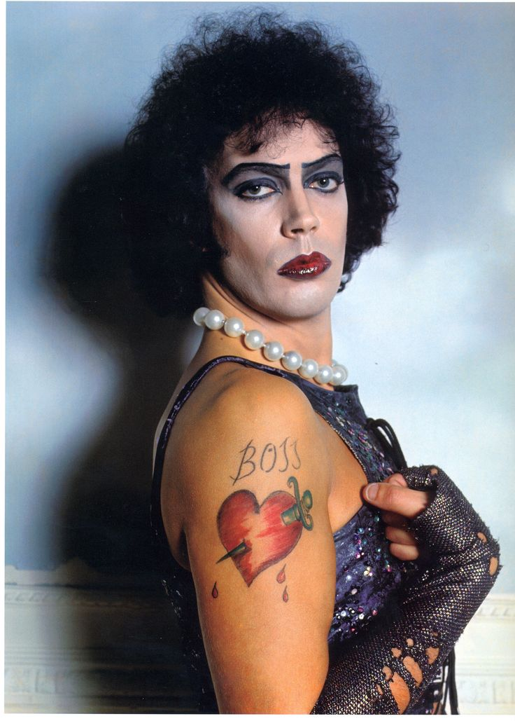 Tim Curry as Dr. Frank-N-Furter gotta be in touch with your feminine side