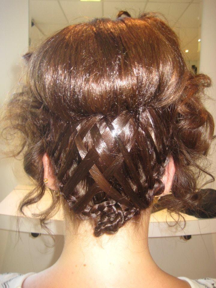 Creative hair up