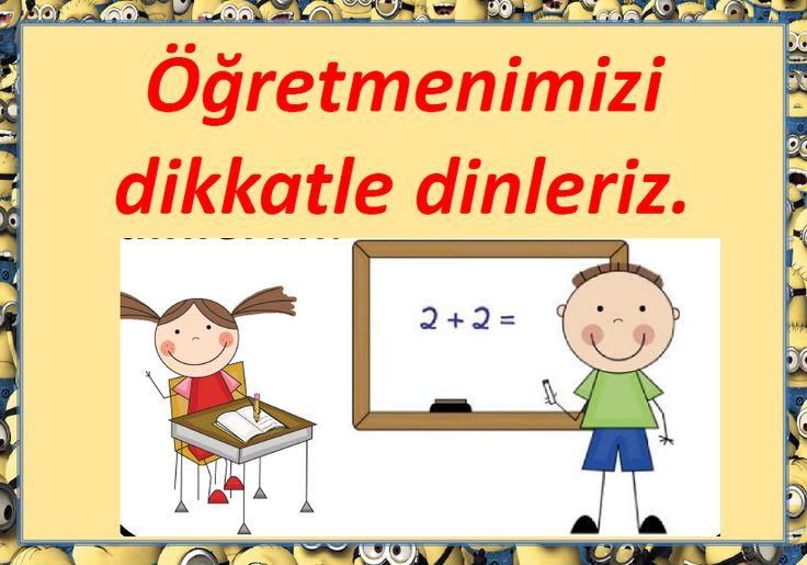 1. Sınıflar İçin Resimli Sınıf Kuralları