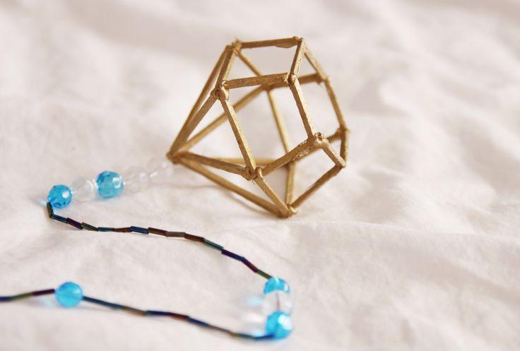Diamant av tändstickor av Linnéa Elisabeth