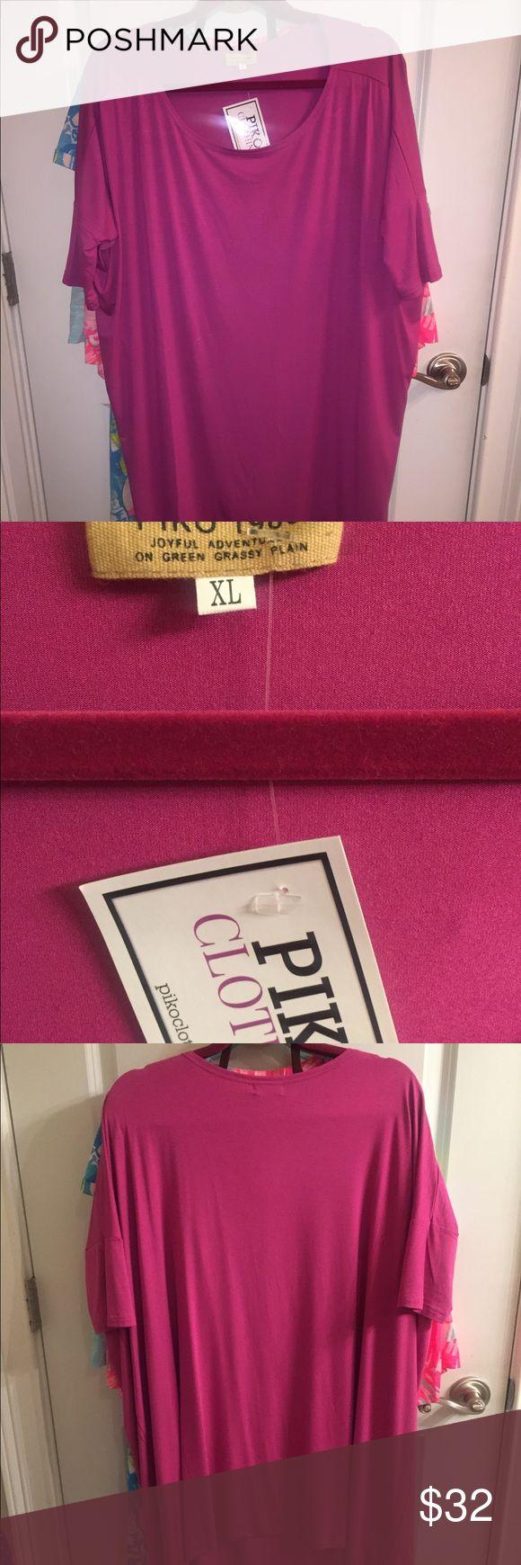 Selling this Orchid piko dress nwt Sz Xl on Poshmark! My username is: margo943. #shopmycloset #poshmark #fashion #shopping #style #forsale #Piko 1988 #Dresses & Skirts