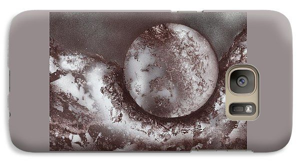 Marble Planet Galaxy S7 Case Printed with Fine Art spray painting image Marble Planet by Nandor Molnar (When you visit the Shop, change the orientation, background color and image size as you wish)