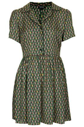 Pipe Tile Shirt Dress from Topshop http://www.topshop.com/en/tsuk/product/new-in-this-week-2169932/new-in-this-week-493/pipe-tile-shirt-dress-2576029?bi=201&ps=200