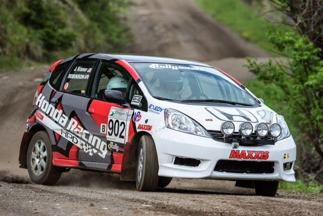 Mt. Hood, OR. (May 2 nd -4 th , 2014) – HPD and THR capture another 2WD podium finish at the 2014 Oregon Trail Rally with B-SPEC Honda Fit...