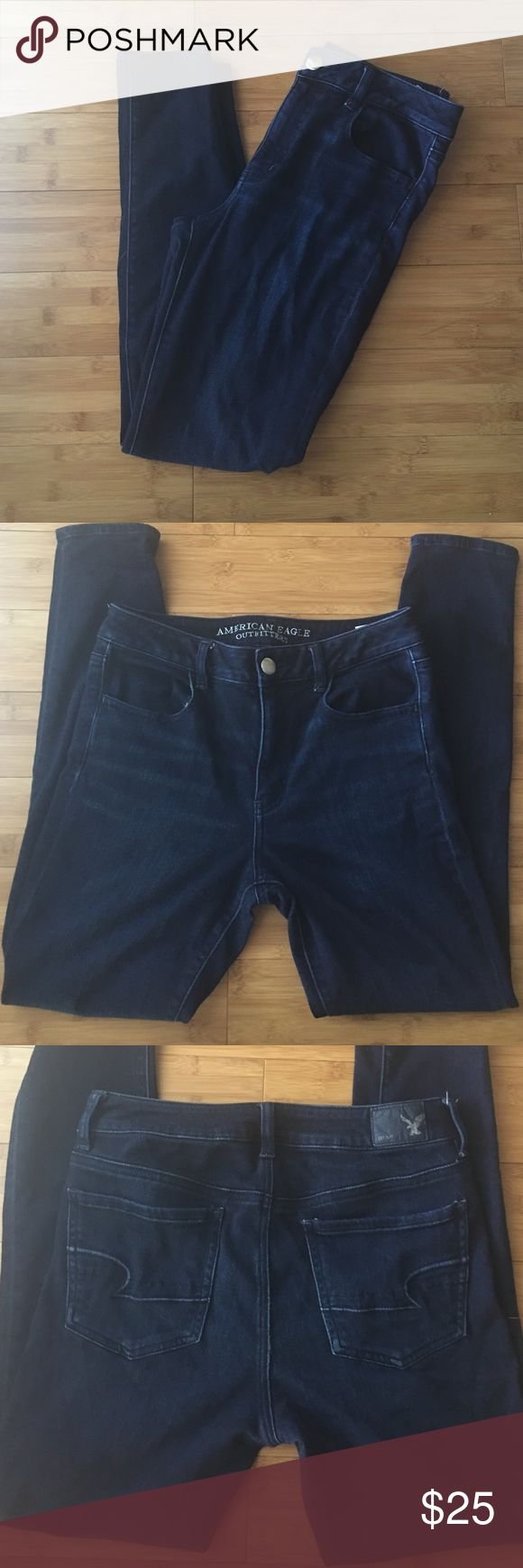 American Eagle Outfitters hi-rise legging Pre-owned and loved ❤️ but worn lightly. Inseam is about 29inches. Needs a new home. American Eagle Outfitters Jeans