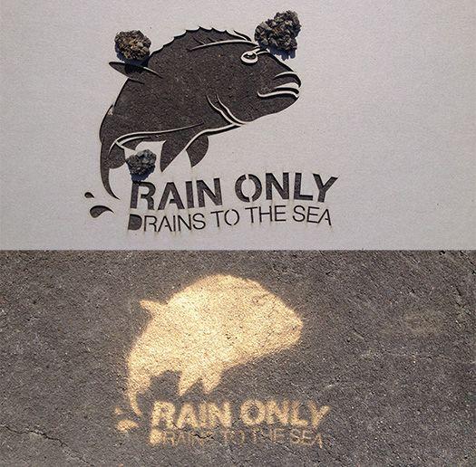 fish drain stencil - Google Search