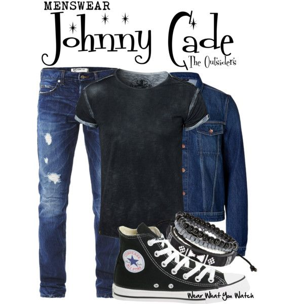 Inspired by Ralph Macchio as Johnny Cade in 1983's The Outsiders.