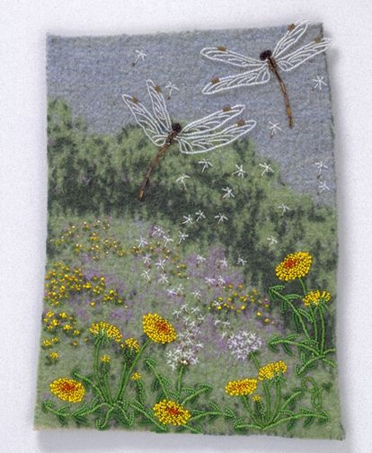 Large photo of Dragonflies & Dandelions by Jo Wood