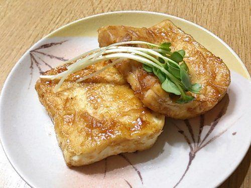 豆腐がメインのおかずに!照り焼き豆腐の作り方