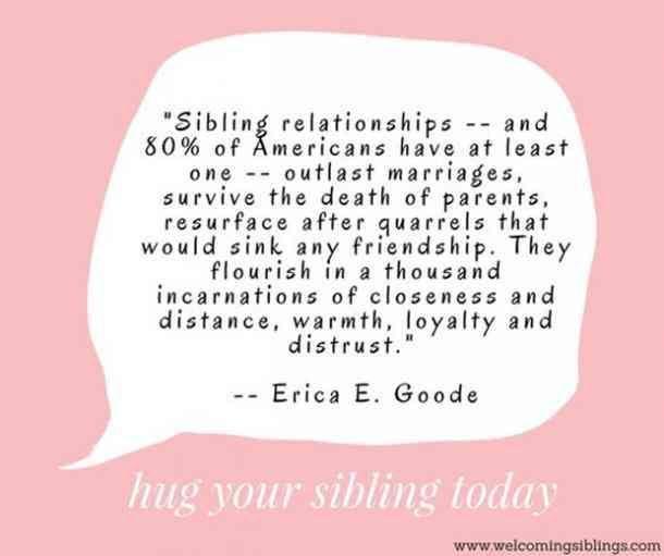 40 Die Besten Zitate Die Sie Ihrem Bruder Und Ihrer Schwester Am Nationalen Geschwistertag Sibling Quotes Sister Quotes Distance Sibling Relationships Quotes