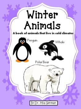 Check out my 30 Emergent Readers for Holidays and Themes BUNDLE!!%0AClick Here to View BUNDLE!%0A%0A%0AThe month of January is the time of year when many teachers teach a winter unit and children learn about all things winter. Winter Animals is a great resource to use with your students.