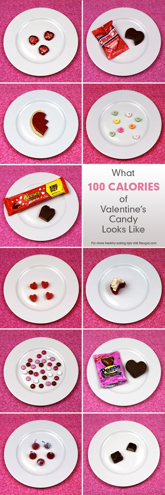 calories in valentine's day chocolate
